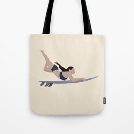 Surfing in the Philippines Tote Bag