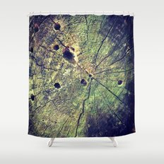 Nature Rings Shower Curtain