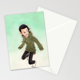 Kid Loki Stationery Cards