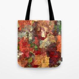Autumn Inspired Torn Scraps 2492 Tote Bag