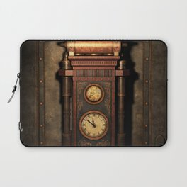 Steampunk Generator Bronze Laptop Sleeve