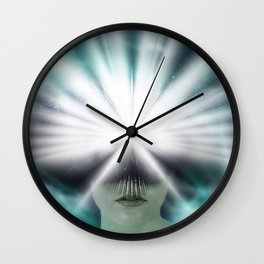 Cerebral Goddess Wall Clock