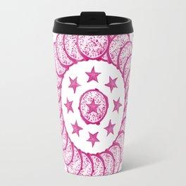 Dragon & Carambola • Mandala Travel Mug
