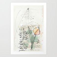 spring time floral Art Print