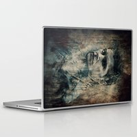 dean winchester Laptop & iPad Skins featuring Dean Winchester by Sirenphotos