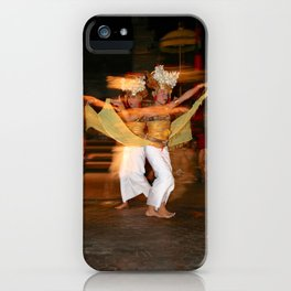 Balinese Dancing Girls iPhone Case