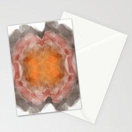 Fractal 20 - Orange Stationery Cards