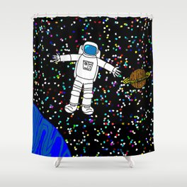 Galactic Ecstasy Shower Curtain