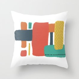 Modern Vibes Throw Pillow