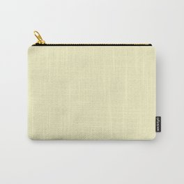 Light yellow. Carry-All Pouch