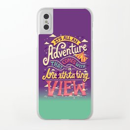 Tightrope Clear iPhone Case