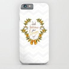 Flower laurel Slim Case iPhone 6s