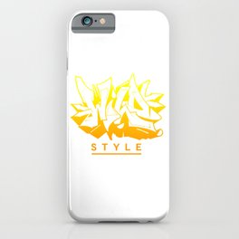 Wild Style AU ver0.3 iPhone Case