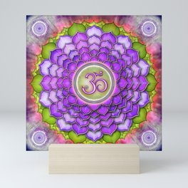 Sahasrara Chakra Series III Mini Art Print