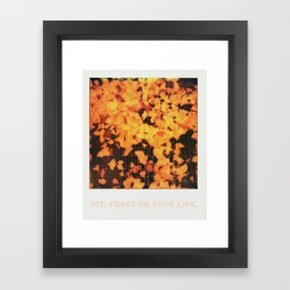 Love After Love Framed Art Print