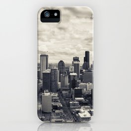 Down Town Seattle I iPhone Case