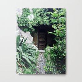 Secret door Metal Print