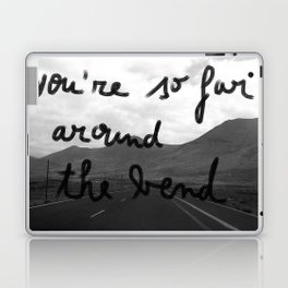 So Far Around The Bend Laptop & iPad Skin