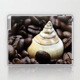 Coffee bean snail Laptop & iPad Skin