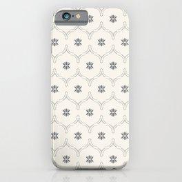 WILDFLOWER JASMIN GREY iPhone Case