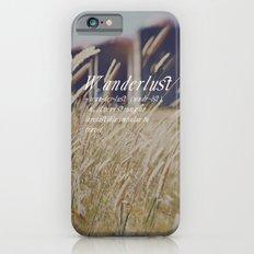 n. WAN-DER-LUST. iPhone 6s Slim Case