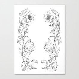 Canterbury Bells Canvas Print