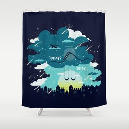 Stars and Constellations Shower Curtain