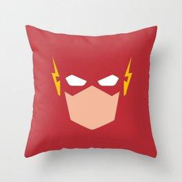 Flash Superhero Throw Pillow