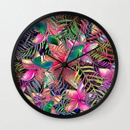 My Tropical Garden 2 Wall Clock