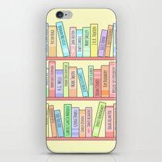 Classics Bookshelf iPhone & iPod Skin