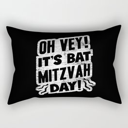 Jewish Bat Mitzvah Jew Rectangular Pillow