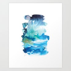 Abstract Landscape 1 Art Print
