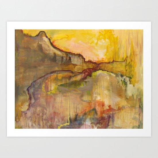 Hurricane Pass Art Print