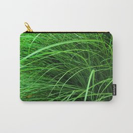 470 - Abstract Grass Design Carry-All Pouch