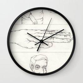 obsessive compulsive Wall Clock