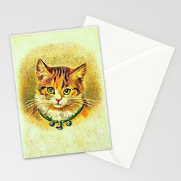 Vintage Cat Art Picture Stationery Cards