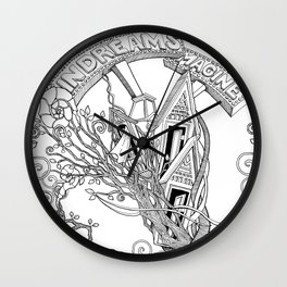 IN DREAMS (comforters, covers, curtains, t-shirts) Wall Clock