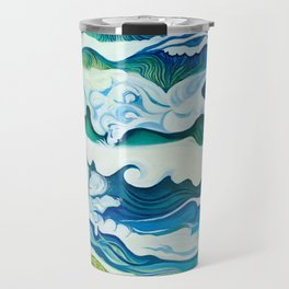 Hahei Beach at High Tide Travel Mug