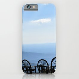 Take it in Linville NC iPhone Case