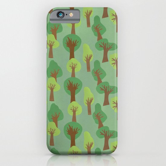 Trees Trees Trees iPhone & iPod Case