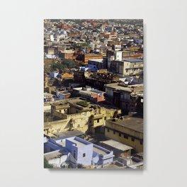 Jaipur Cityscape Metal Print