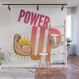 Best Entrepreneur Quotes - Power Up Wall Mural
