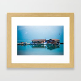 Lake Minnewanka Framed Art Print