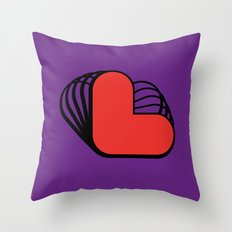 L like L Throw Pillow