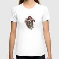 anatomical heart T-shirts featuring Anatomical Heart  by Whoosh