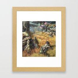 Reclaiming Juno Framed Art Print