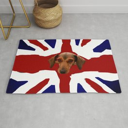 The Smooth Side of being British Rug