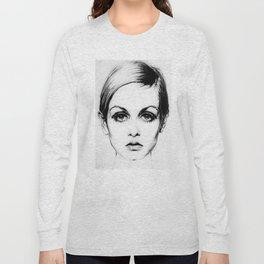60's Eyelashes Long Sleeve T-shirt