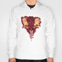 borderlands Hoodies featuring fiona the vault hunter by hydrae