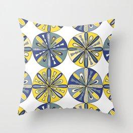 Compass Coast Throw Pillow